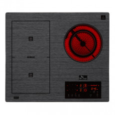 [ERABF300] 플렉스 프리미엄 3구 하이브리드 전기레인지(인덕션2구+하이1구/사은품 냄비세트)