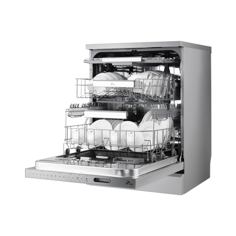 [DWA81R0D] 터치온 플러스 스탠드형 식기세척기_샤인실버